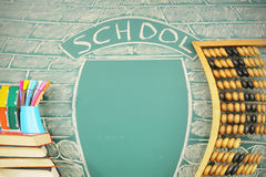 Grundskola Arkivfoton