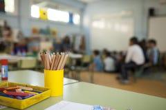 Grundskola för barn mellan 5 och 11 årgrupp Royaltyfria Foton