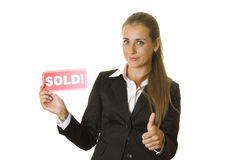 Grundstücksmakler Lizenzfreie Stockfotos