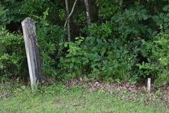 Grundstein in Mississippi stockbilder