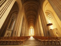 Grundtvig` s Kerk Royalty-vrije Stock Foto