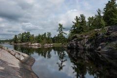 Grundy lake Royalty Free Stock Photography