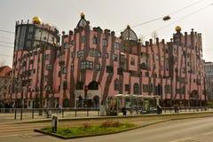 Grune Zitadelle在马格德堡 免版税库存图片
