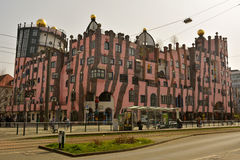 Grune Zitadelle в Магдебурге Стоковые Изображения RF