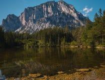 Gruner See aka Green Lake in Austria Royalty Free Stock Photos
