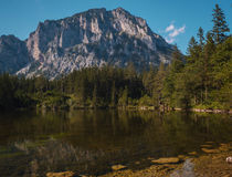 Gruner See aka Green Lake in Austria Royalty Free Stock Image