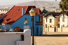 Grunewald House, Bergstrasse, Luderitz, Namibia, Stock Photo