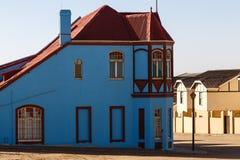 Grunewald House, Bergstrasse, Luderitz, Namibia, Stock Photos