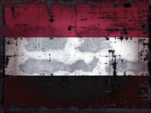 grunge也门 皇族释放例证