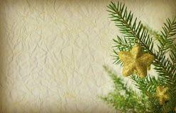 Grunge圣诞节背景 免版税图库摄影