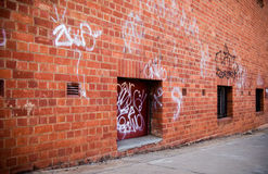grunge场面街道 免版税图库摄影