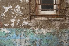 Grunge墙壁背景 免版税库存照片