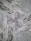 grunge墨水多的镶边纹理 库存图片
