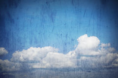 grunge天空 库存照片