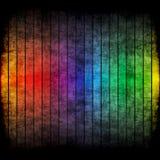 grunge格式彩虹 皇族释放例证