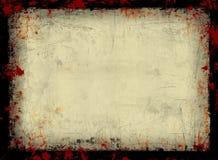 Grunge框架 图库摄影