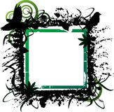 Grunge横幅 免版税库存图片