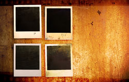 Grunge照片框架 库存照片