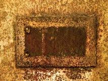 Grunge生锈的框架 免版税库存照片