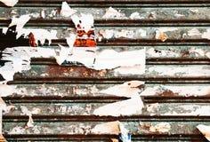 Grunge生锈的金属纹理 免版税库存照片