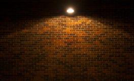 Grunge砖墙 免版税库存图片