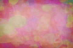 Grunge粒状桃红色纸张 免版税库存图片