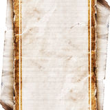 grunge纸张 免版税图库摄影