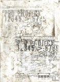 grunge纸张 库存照片