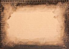 Grunge纸板纹理 免版税图库摄影
