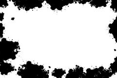 Grunge纹理框架 免版税库存图片
