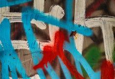 Grunge绘了金属纹理或背景 库存照片