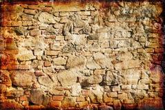 grunge老墙壁 免版税库存图片