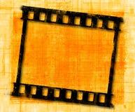 Grunge胶卷画面 免版税库存照片