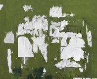Grunge被撕毁的广告牌海报 免版税库存照片