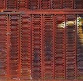Grunge金属墙壁背景或纹理 免版税库存照片