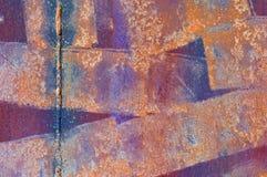 grunge金属油漆 库存照片