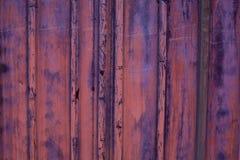 Grunge金属背景 油漆削皮的细节从一个金属容器的 库存照片