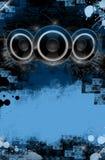 grunge音乐 图库摄影