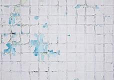 grunge马赛克墙壁 免版税库存照片