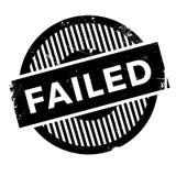 Grunge échoué en caoutchouc de timbre Photographie stock