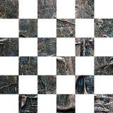Grunge Ñ  hess textured abstrakcjonistycznego w kratkę bezszwowego wzór Zdjęcie Royalty Free