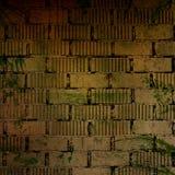 Grunge ściana z cegieł Obrazy Stock