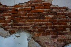 Grunge ściana z cegieł Zdjęcia Stock