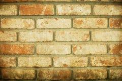 Grunge ściana z cegieł czerwony tło Obraz Royalty Free