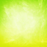 Grunge żółtej zieleni tło Obrazy Royalty Free