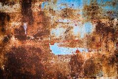 Grunge żelazna ośniedziała tekstura Fotografia Royalty Free