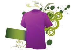 grunge αθλητισμός πουκάμισων στοκ εικόνα με δικαίωμα ελεύθερης χρήσης