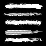 Grunge από την οδική ρόδα στοιχείο-08 ελεύθερη απεικόνιση δικαιώματος
