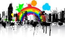 grunge αστικός διανυσματική απεικόνιση