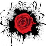 grunge αυξήθηκε ελεύθερη απεικόνιση δικαιώματος